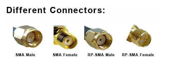 terminology sma connector in the flitelab